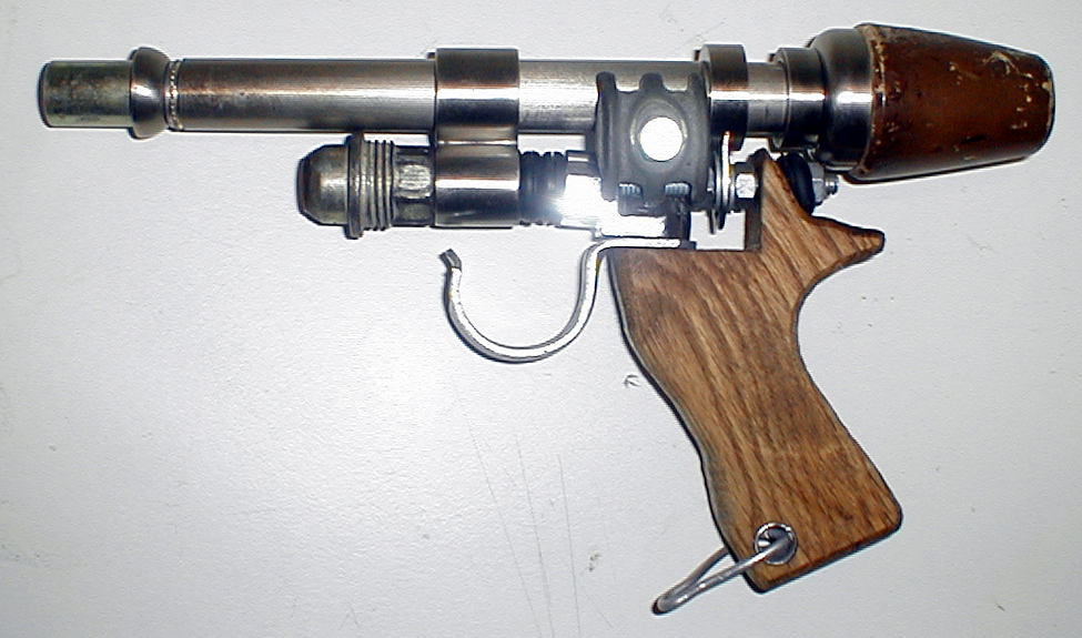 My first home-built ray gun.  Right click for larger image.