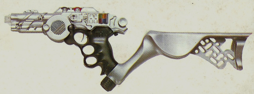 Edison Giaccatoli 'Super Thur LR,' from box art, left side view.